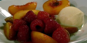 Peach Melba Day - Mac melba or mac peaches?