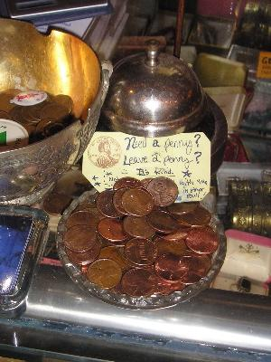 Leave A Penny Day - Why do people disregard pennies?