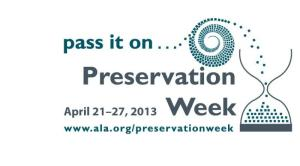 Preservation Week - Food Preservation?