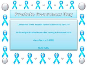 Prostate Cancer Awareness Week - Colors of cancer awareness for each month?