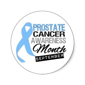 National Prostate Cancer Awareness Month - Why people mad at me because i dont support Womens National Breast Cancer Awareness month?