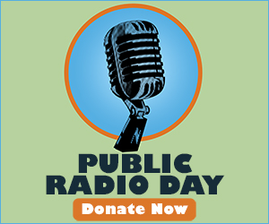 Public Radio Day - I listen to PBS (public radio) most of the time because it is the only intelligent radio?