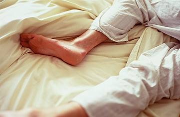 Hot Tub: Relief for Restless Leg Syndrome