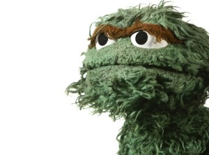 Oscar The Grouch Day - does Oscar the Grouch eat trash?