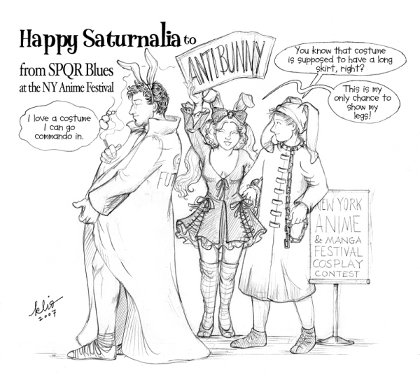 Anybody gonna celebrate Saturnalia?