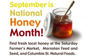 National Honey Month - why don't we have a white history month?