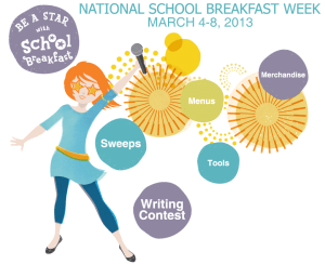 National School Breakfast Week - Reception Week at Basic Training?