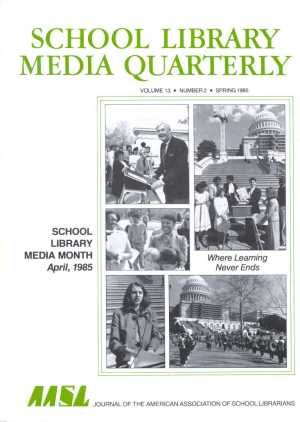 School Library Media Month - Can anyone recommend school library media specialist as a post-graduate career?