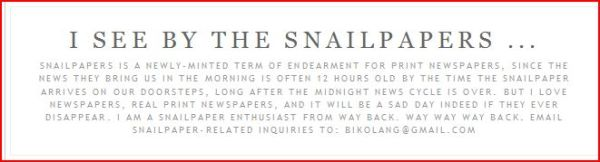 Jon Slattery: Celebrate International Snailpapers Day