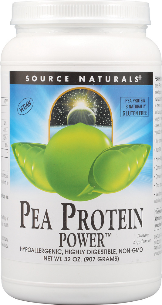 Source Naturals Pea Protein Power™ -- 32 oz - Vitacost
