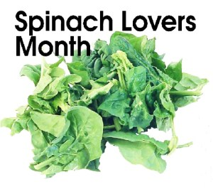 Spinach Lovers Month - My boy bunny got the chop 9 month ago but.?