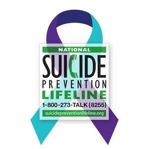 What are some suicide prevention hotlines?