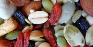Trail Mix Day - Is a few handfulls of trail mix a day going to make e gain weight?
