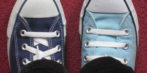 Two Different Colored Shoes Day - What does my dream about recieving two different colored shoes mean?