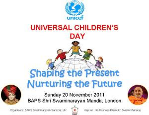 Universal Children's Day - Universal Children's Day,