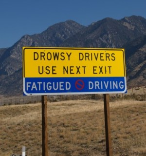 Drowsy Driver Awareness Day - How come it's ok to sleep and drive but it's not ok to drink and drive?