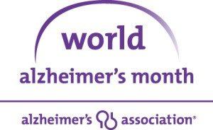 World Alzheimer's Month - November is the month for what cancer awareness?