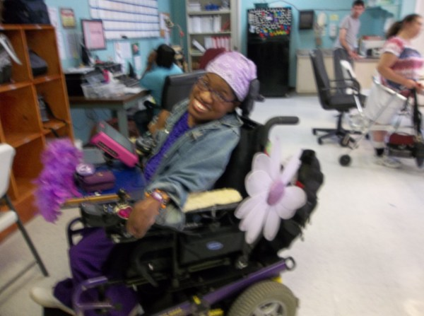 July is National Wheelchair Beautification Month