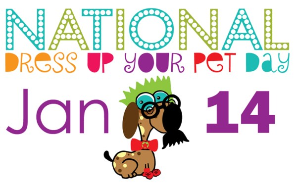 Did you know today is Dress Up Your Pet Day?