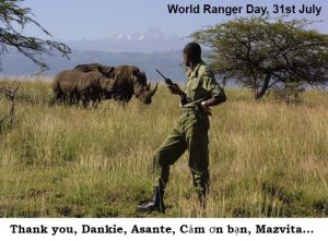 World Ranger Day - WWII rangers?