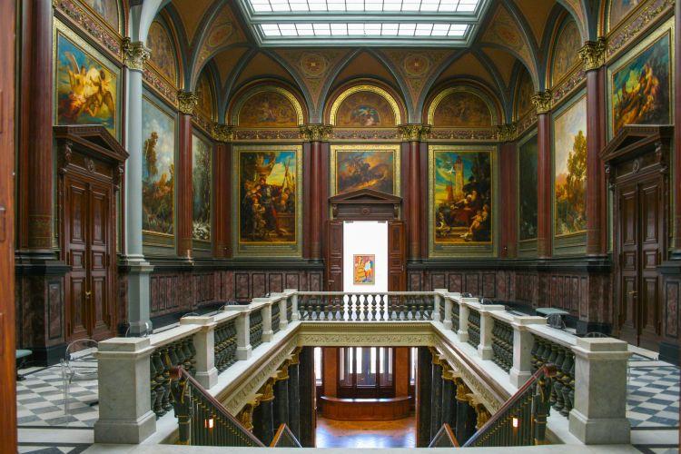 Музей на изкуствата Kunsthalle Hamburg