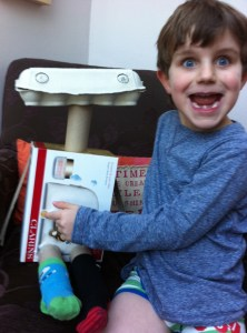 freddie with his weather bot