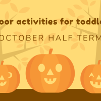 5 indoor activities to keep your toddlers busy this Half Term!