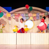 Twirlywoos LIVE at Hertford Theatre - the perfect introduction to Theatre, and socially distanced too.