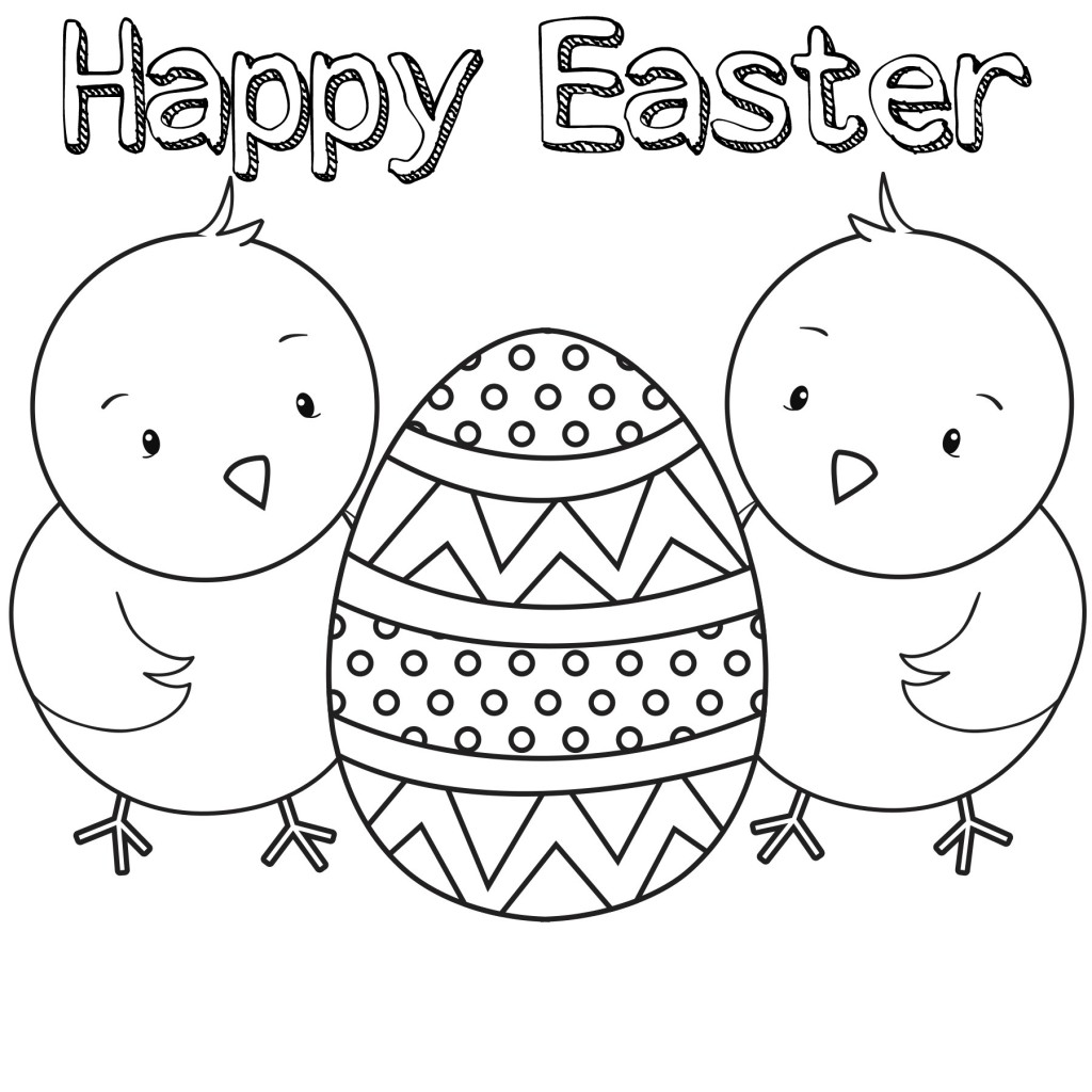 15 Printable Easter Coloring Pages - Holiday Vault | free printable easter coloring pages for toddlers