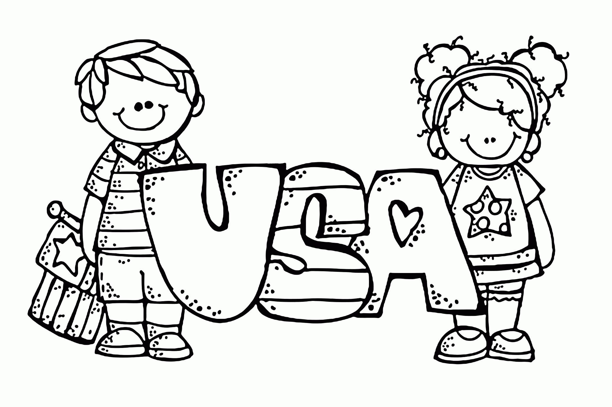 18 Printable Independence Day Coloring Pages