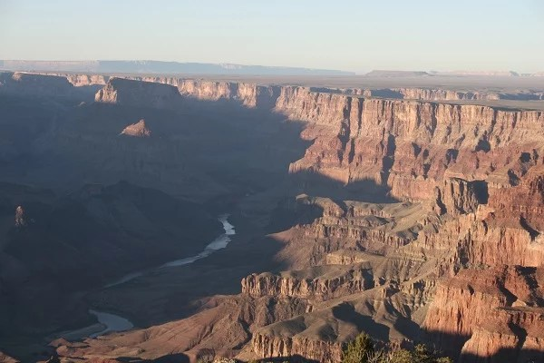 The Grand Canyon is a great place for relief vets to relax