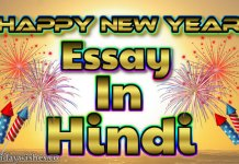 Happy new year essay in hindi image