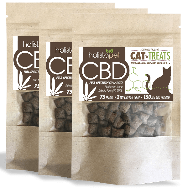Bundle 3 CBD Cat Treats Save