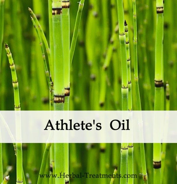 Herbal Medicine - Athlete's Oil