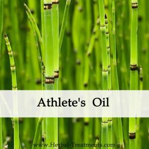 Herbal Medicine - Athlete's Oil