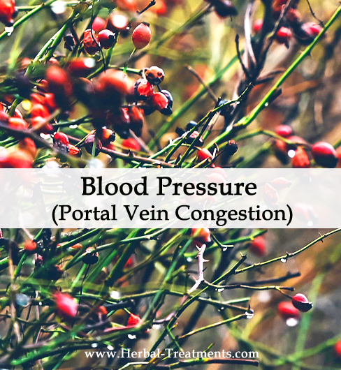 Herbal Medicine for Blood Pressure due to Portal Vein Congestion