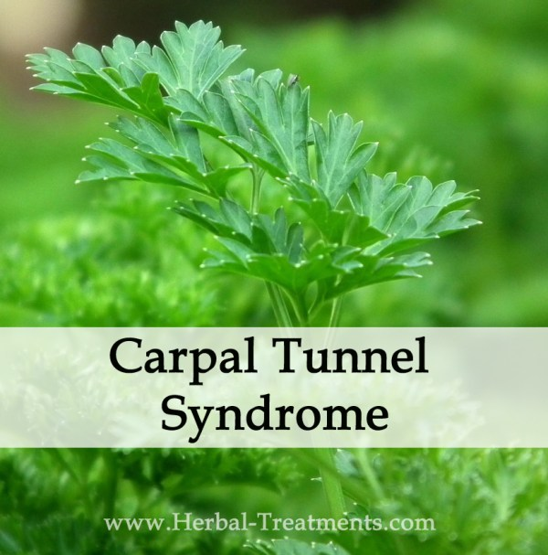 Herbal Medicine for Carpal Tunnel (Neuropathy) Syndrome