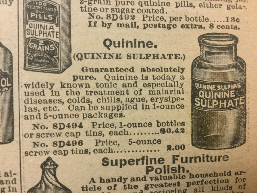 quinine-1905-sears-roebuck-catalog