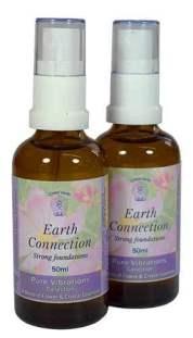 Earth connection aura sprays