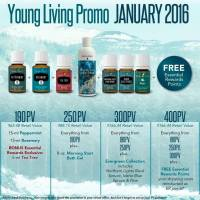 January 2016 Young Living Promotions
