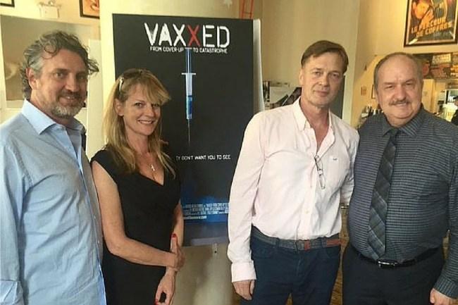 VAXXED film makers