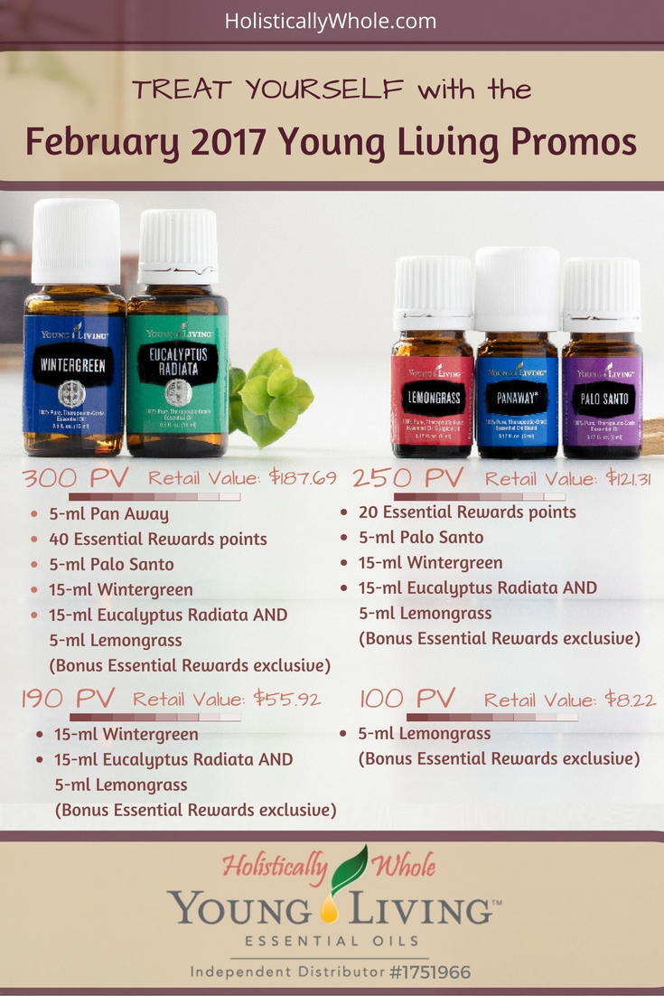 Young Living February promos