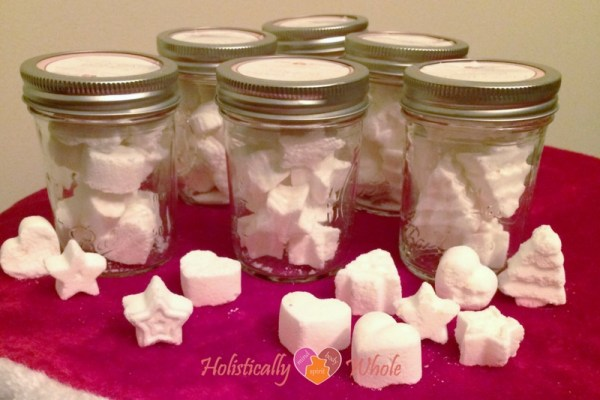 Homemade gifts - fizzy bath bombs