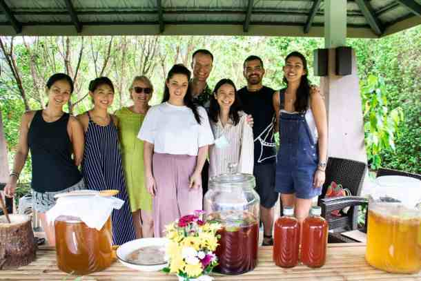 Holistic chef workshop students