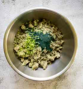 Ingredients-in-a-bowl-for-making-the-base-for-key-lime-pie