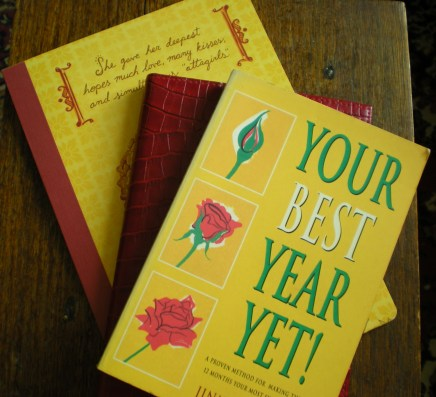 January: BEST year yet (good intentions)