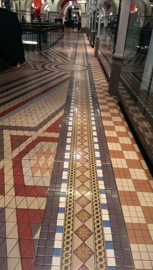 interesting tile patterns, Sydney