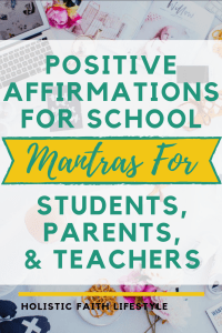 positive affirmations for school