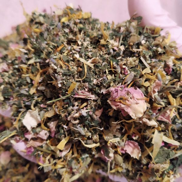 cleansing blend of yoni herbs