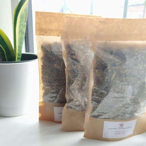 bags of yoni herbs
